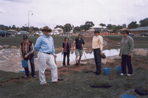 McKellar Wetland Planting 2004