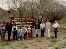 North Belconnen Landcare Group 1997